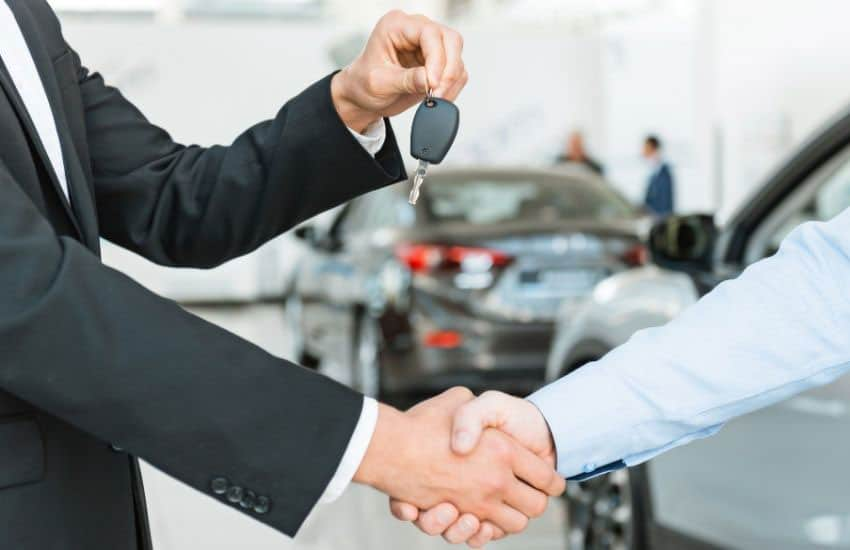 car rental business image